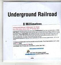 (CW608) Underground Railroad, 8 Millimetres - 2011 DJ CD