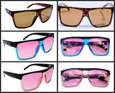 New Madness Sunglasses Retro Black Tort Blue Pink etc UV400 Mens Womens