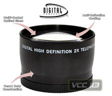 58MM 2X TELEPHOTO LENS FOR CANON 60D 40D 20D 5D XTi 1100D 600D 550D 400D 300D