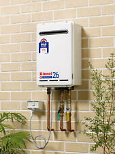 Rinnai Infinity 26L Natural Gas or LPG Continuous Flow Heater 50C or 60C