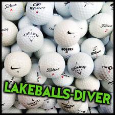 50 Golfbälle, Marken-Mix ,Markenmix + 50 Holztees ***AAAA-AA*** Top Qualität