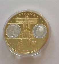 Polierte Platte Münzwesen & Numismatika-Medaillen aus Spanien