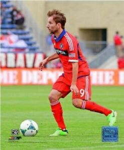 "Mike Magee Chicago Fire FC MLS Game Action Photo (Size: 8"" x 10"")"