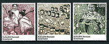 Greenland 2017 MNH Music Accordion Drums Choir Singing 3v Set Stamps