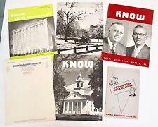 General Adjustment Bureau GAB 1950s Insurance Brochures Newsletters Manual 6 pc