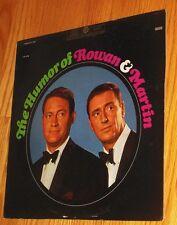 VINYL LP Rowan & Martin - The Humor Of Rowan & Martin pic Yellow label Laugh-In