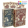 BICYCLE CIVIL WAR UNION CONFEDERATE RED BLUE PLAYING CARDS DECK MAGIC TRICKS NEW