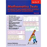Maths Tests for Selective and Independent Schools/Scholarship Exams: Years...
