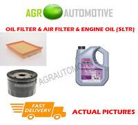 PETROL OIL AIR FILTER KIT + FS 5W30 OIL FOR FORD FIESTA 1.4 80 BHP 2001-08