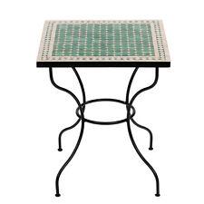 marokkanischer Mosaiktisch 60x60cm Bistrotisch Marokko Tisch Gartentisch MEBO