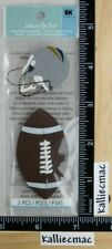 Jolee's FOOTBALL AND HELMET By You 3D Embellishments IT'S FOOTBALL YA'LL