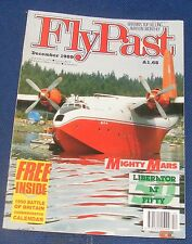FLYPAST MAGAZINE DECEMBER 1989 - LIBERATOR AT 50/MIGHTY MARS