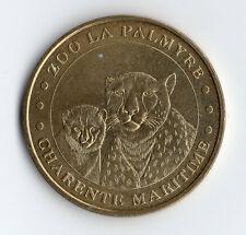 MONNAIE DE PARIS @ ZOO DE LA PALMYRE @ LE GUEPARD @ 2005 @ EPUISE @ RARE TOP !!!