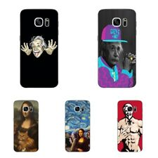 Case For Samsung Galaxy S4 S7 Edge Soft TPU Phone Back Cover Funny Stars Skins