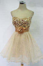 SPEECHLESS Natural $110 Prom Homecoming Party Dress 13