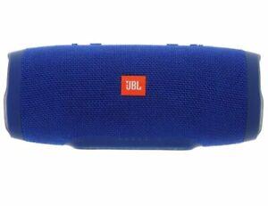 jbl bluetooth speaker charge 3   blue  waterproof power bank