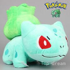 New Pokemon Bulbasaur Plush Soft Toy Stuffed Animal Doll Teddy 10'' Kids Gift