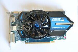 SAPPHIRE VAPOR-X Radeon HD6750 1G GDDR5 PCI-E HDMI/ DVI-I /DP OC VERSI ON