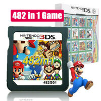 Video Game Card 482 In 1 Cartridge Console Cards For NDS NDSL 2DS 3DS 3DSLL NDSI