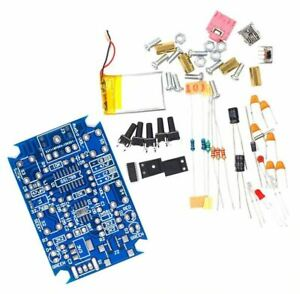 SELF BUILD DIY FM RADIO KIT WITH RECHARGEABLE BATTERY - All Components Included