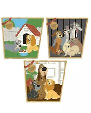 Lady And The Tramp 65th Anniversary 3 Pin Collection LE 1000 CONFIRMED ORDER
