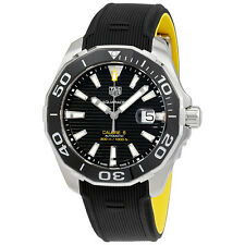 Tag Heuer Aquaracer Automatic Black Dial Mens Watch WAY201A.FT6069