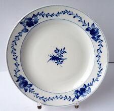 Meissen Porzellan Teller, Blaue Blume, handbemalt, um 1900 AL922