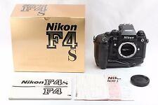 """NearMINT in Box "" Nikon F4s Late Model 35mm SLR Camera Body From Japan #2026"