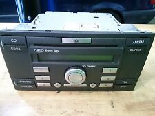 FORD 6000 CD Stereo CD Player With Code 4M5T18C815AD