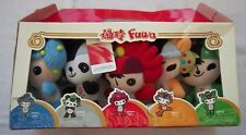 5 Orig.mascot`s   Olympic Games BEIJING 2008 // each 20 cm // in Box  !!  RARITY