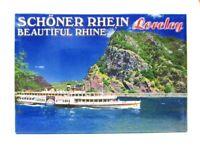 Loreley Rhein Fluß Foto Magnet Germany 8 cm Reise Souvenir
