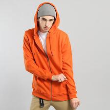 Urban Classics Basic Zip Hoody orange L, orange, TB1788