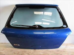 JDM 02 07 Subaru Impreza WRX STI WAGON OEM Rear Hatchback Liftgate Glass Spoiler