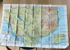 More details for ww2 raf aircrew silk/ rayon escape map