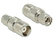 Delock Adapter SMA Plug - TNC Jack Antennenadapter