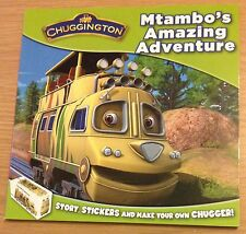 MTAMBO'S AMAZING ADVENTURE Story & Sticker Book (CHUGGINGTON) BRAND NEW