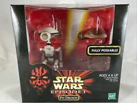"""1998 Hasbro - Star Wars Episode I Action Collection - Pit Droids 12"""" Figure"""