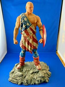 Captain America Full Size Statue Earth X Cap Dynamic Forces Avengers Alex Ross