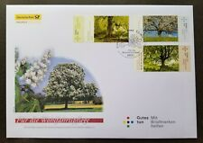 Germany Flowering Trees 2013 Flower Flora Plant (stamp FDC)