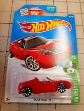 Hot Wheels Tesla Roadster Red HW Green Speed