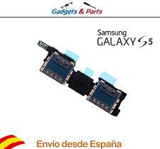 Samsung Galaxy S5 i9600 G900  Dual Sim Card Flex Cable - Nuevo !!!