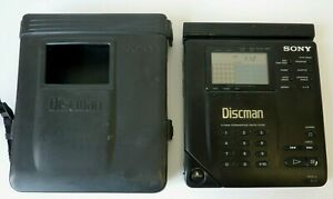 SONY Discman D-350 w/ Official Case + Battery Adapter Add-On (Hospiscare)
