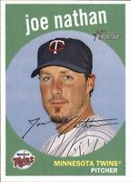 2008 Topps Heritage #29 Joe Nathan Minnesota Twins