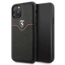Ferrari Off Track Case Apple iPhone 11 / 11 Pro / 11 Pro Max Leder Cover Hülle