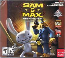 Sam & Max: Season One -- Episodes 1-3 (PC, 2009, Telltale Games, SEALED NEW)