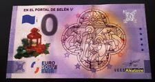Billet Touristique Souvenir 0 Schein euro En El Portal De Belen ♫ 2020