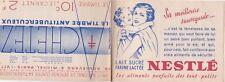 0284 Carnet de 19 timbres ANTITUBERCULEUX de 1935 NESTLE GALERIE BARBES MARNE