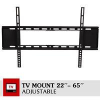 LCD LED Dual Arm Slim Plasma Flat TV Wall Mount 22 32 40 42 46 50 55 60 65