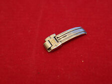 BAUME MERCIER STEEL RIVIERA DEPLOYMENT LINK BUCKLE FOR LADIES BAND BRACELET