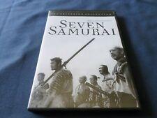 Seven Samurai (1954- Kurosawa)(Dvd, 1998, Criterion) Toshiro Mifune